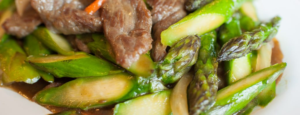 Asparagus Fried Beef